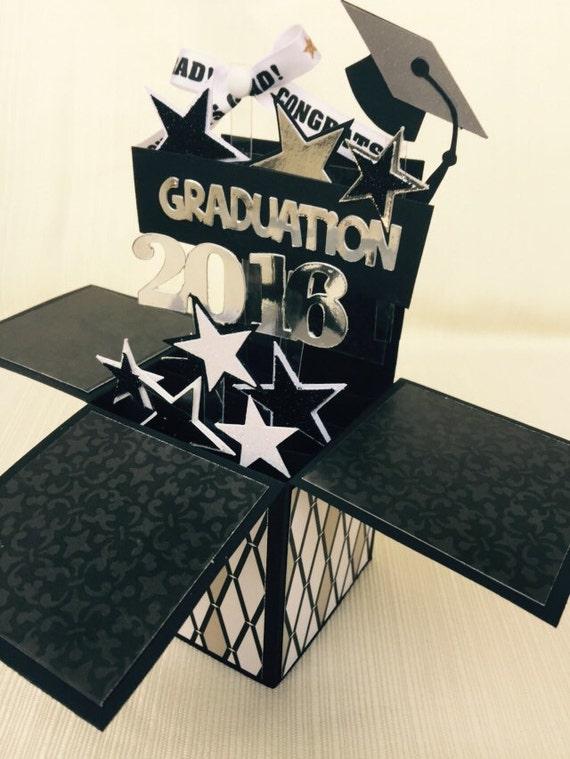 3d Graduation Pop Up Card 2016 Graduation Pop Up Box Card