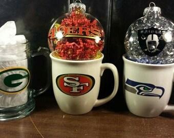 Custom Mugs  Get your favorite team