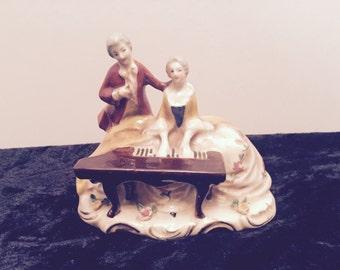Vintage Porcelain Victorian Figurine