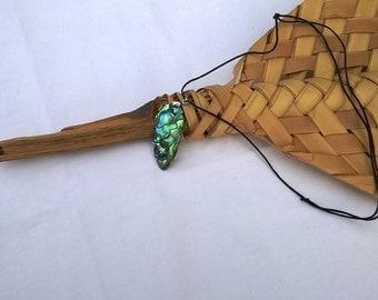 abalone (paua) pendant