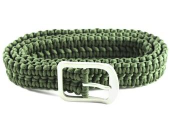 Double Cobra Weave Paracord Belt