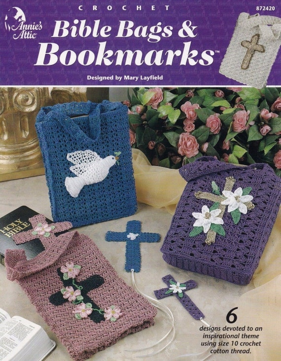 Bible Bags & Bookmarks Annies Attic Religious Home Decor