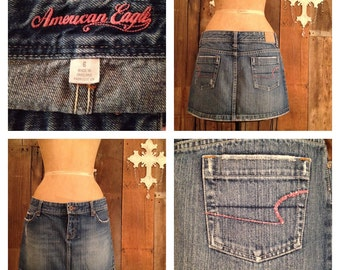 American Eagle Denim Mini Skirt -sz-6-
