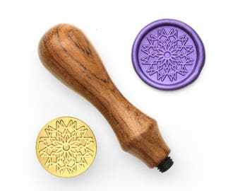Mandalas Pattern - 49 - Design OD Wax Seal Stamp (DODWS0361)