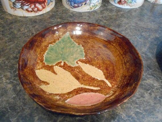 9.5 Inch Leaf Plate