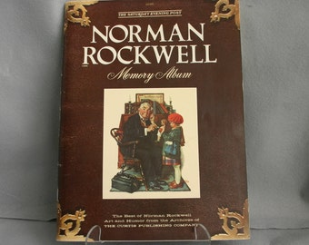 "1979 Saturday Evening Post ""Norman Rockwell Memory Album"""
