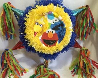 Sesame Street Pinata Handcrafted
