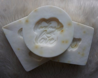 Organic Exfoliating Melon Artisanal Soap (3-pack)