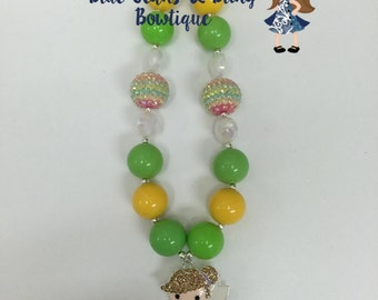 Tinker Girl Chunky Bead Necklace
