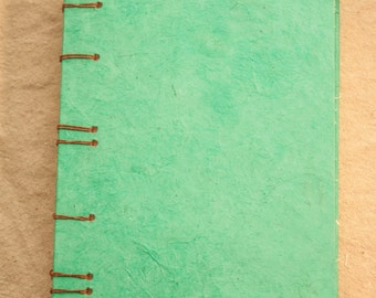 Teal Coptic Stitch - Handmade Book