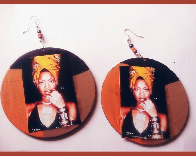 Erykah Badu Hip hop earrings