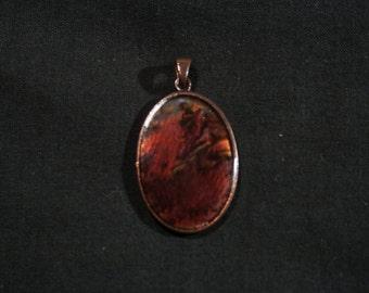 Gemstone,boho pendant.