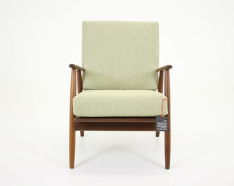 304-011 Danish Mid Century Modern Teak Lounge Chair