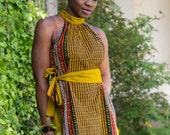 Ankara dress, african print dress