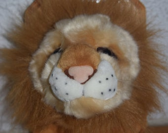 Leo the the Lion Stuffidermy! (faux taxidermy)