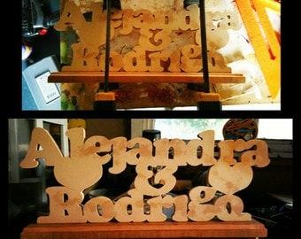 Desk Name Plaque