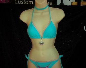 2 piece Princess bikini - Jewels