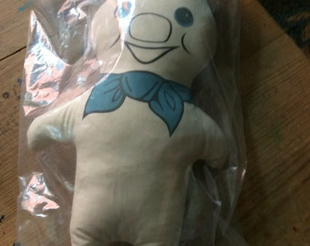 Vintage stuffed Pillsbury Poppin Fresh Dough Boy- in original packaging!! Never opened