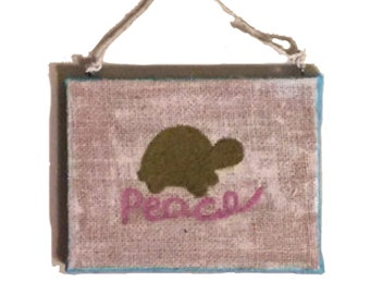 Needle Felted Wall Hanging