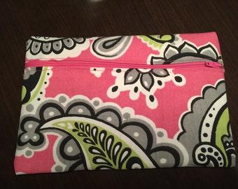 Pink Paisley bag