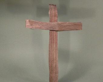101 Riven Wood Cross