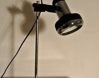 60s black desk lamp