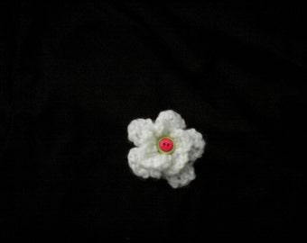 Crochet Hair Flower