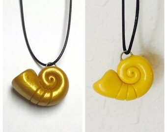 Sea Witch Necklace- Ursula Inspired- Sea Shell