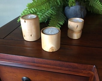 Applewood tea lights