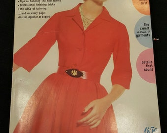 Simplicity Sewing Book 1962