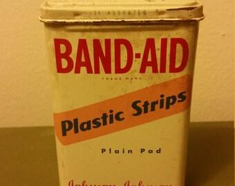 Vintage Band-aid Tin