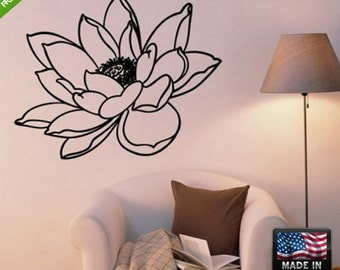 Flowers Wall Decal Flowers Wall Decal Flower Wall Sticker Flower Sticker For Wall floral wall decals Bird wall decal (Z148)