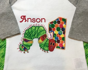 The Very Hungry Caterpillar Birthday Shirt