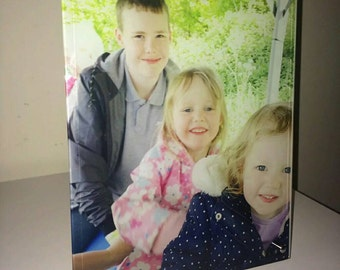 Personalised Picture Glass Photo