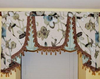 Elegant Window Valance   Window Treatment   Curtain