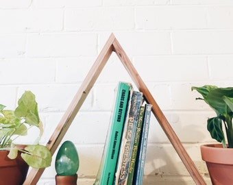 Triangle Shelf Shadow Box Oregon Timber
