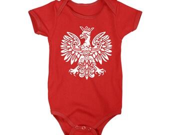 Polska Polish Eagle One-Piece T-Shirt Onesie