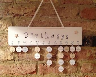 Birthday board plaque