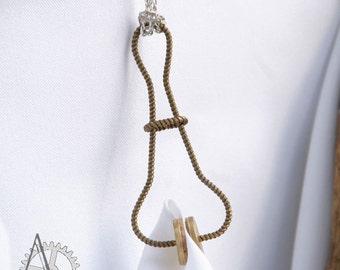 Brass Skirt Lifter. Handmade steampunk accessory.