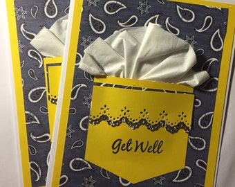 Get well cards, set of 2