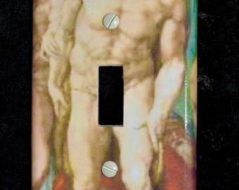 Light switch cover, 'Michaelangelo'