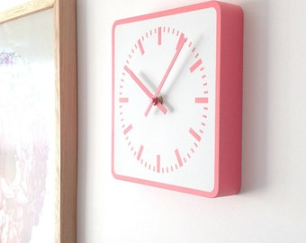 Station WALL CLOCK - Rose