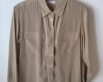 Equipment Femme Beige Shirt
