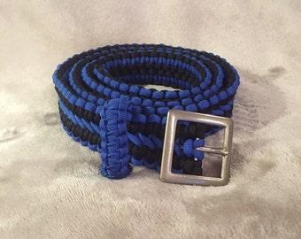 Paracord Belt, mens belt, womens belt, wide belt, survival belt