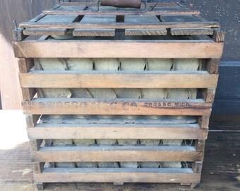 Humpty Dumpty Egg Crate