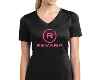 REVAMP performance women's tshirt