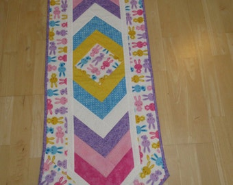 easter table runner