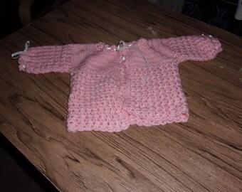 puff stitch sweater