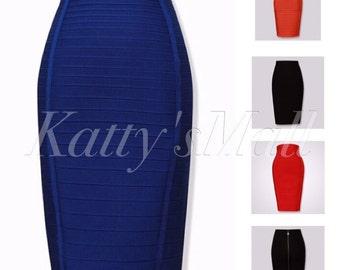 Pencil skirt Bandage skirt, bodycon skirt, clothing, Blue skirt, black skirt, orange skirt, women's clothing