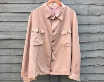 1950s mens beige jacket